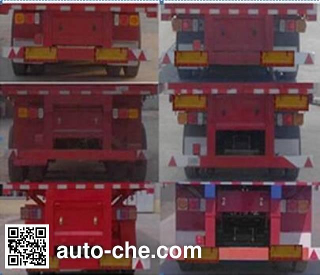 Lianghong MXH9401ZZX dump trailer
