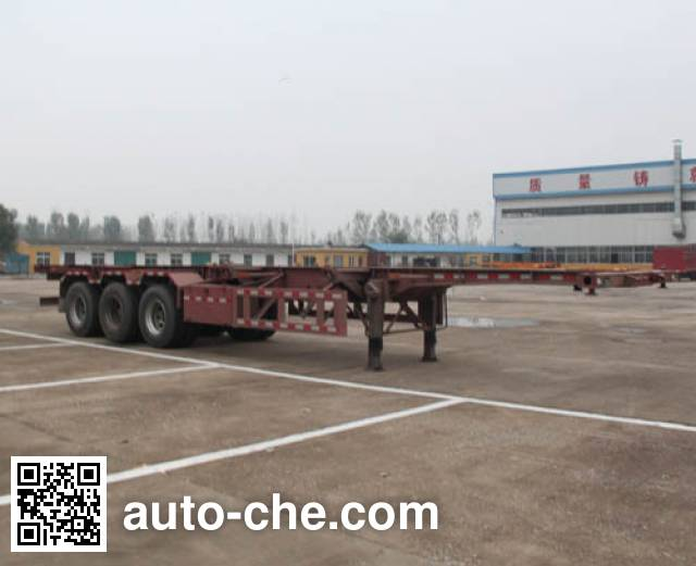 Lianghong MXH9401TJZ container transport trailer