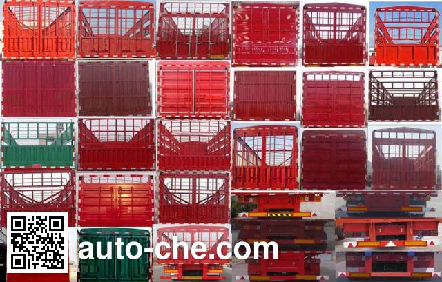 Lianghong MXH9402CCY stake trailer