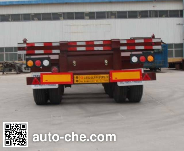 Lianghong MXH9403TJZG container transport trailer