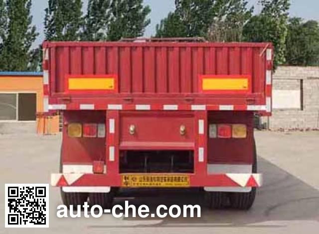 Hehai Mingzhu MZC9400 dropside trailer