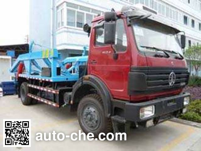 Jialingjiang NC5162ZBG tank transport truck