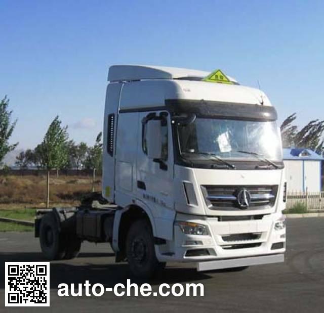 Beiben North Benz ND4180AD5J7Z01 dangerous goods transport tractor unit