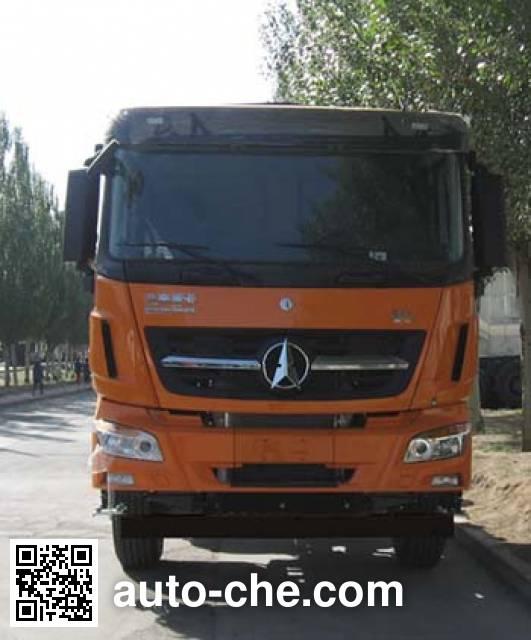 Beiben North Benz ND5240XXYZ00 box van truck