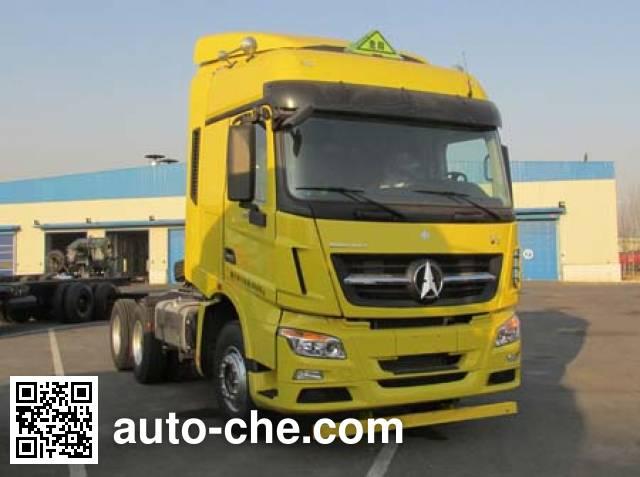 Beiben North Benz ND4250BD4J3Z01 dangerous goods transport tractor unit