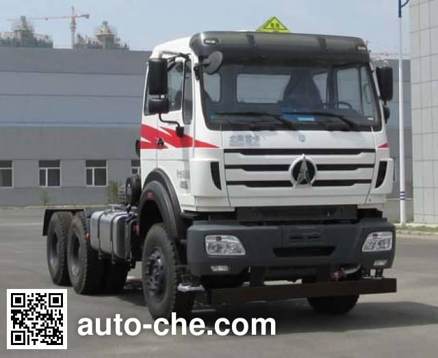 Beiben North Benz ND4250BD4J6Z02 dangerous goods transport tractor unit