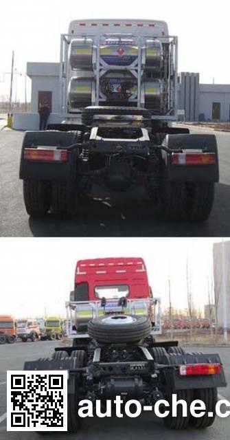 Beiben North Benz ND4250BG5J3Z00 dangerous goods transport tractor unit