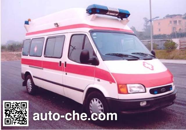 北地牌ND5030XJH-H救护车