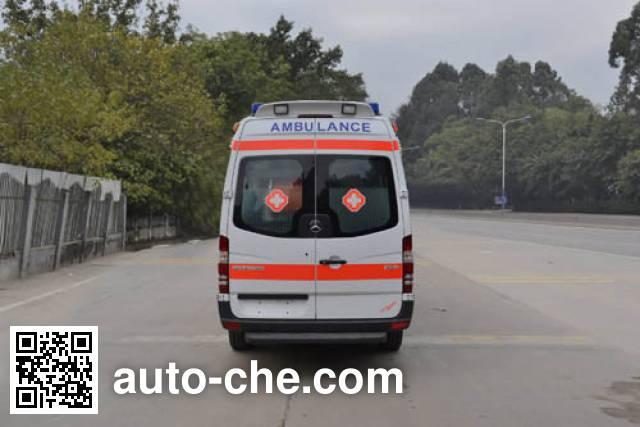 北地牌ND5040XJH-3H救护车