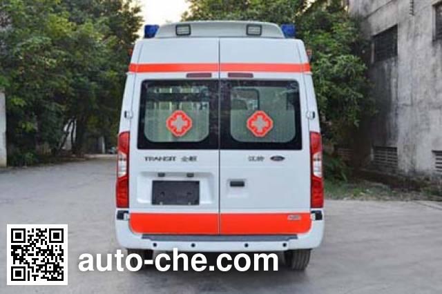 北地牌ND5040XJH-M5救护车