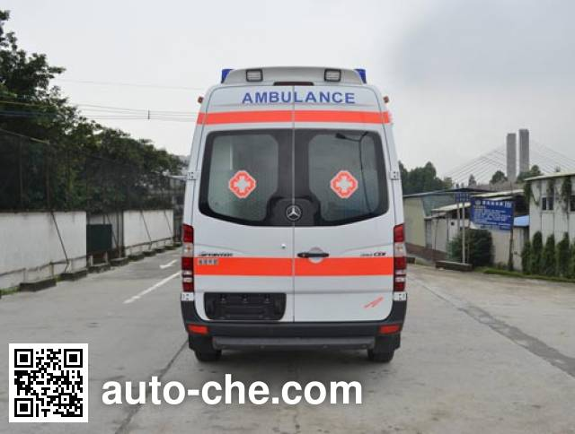 北地牌ND5042XJH救护车