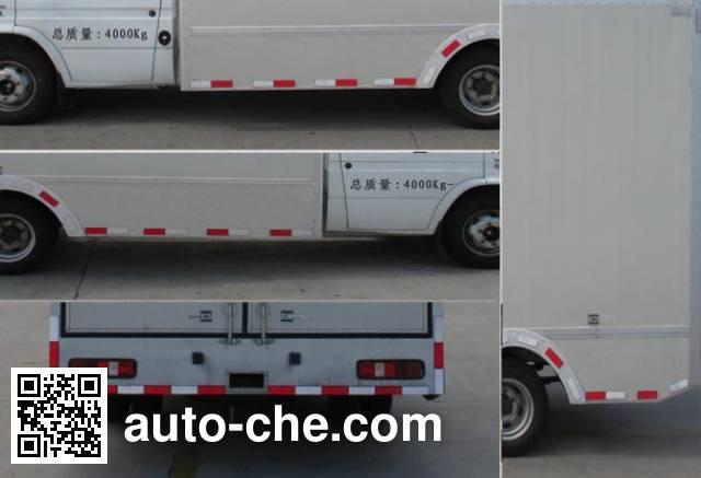 Beidi ND5042XXY box van truck