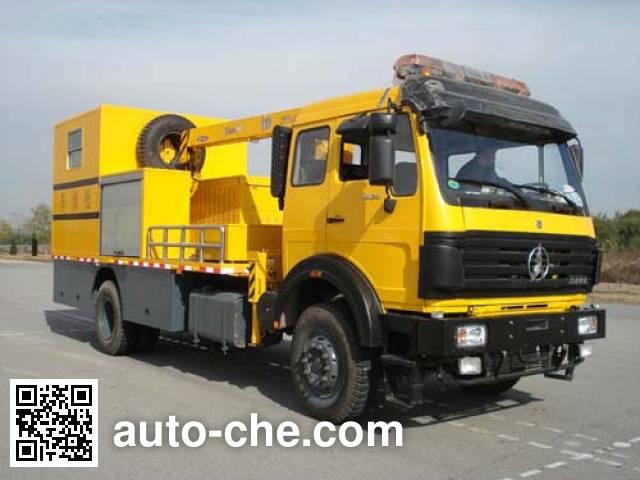 Beiben North Benz ND5160TQX railroad rush repair vehicle
