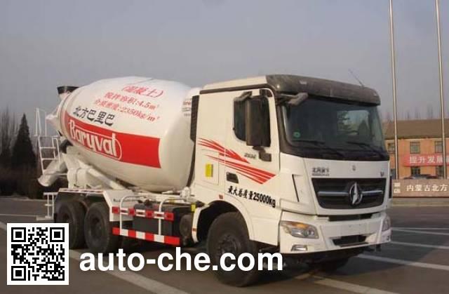 Beiben North Benz ND5250GJBZ03 concrete mixer truck
