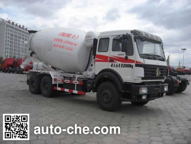 Beiben North Benz ND5250GJBZ15 concrete mixer truck