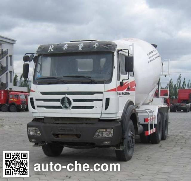 Beiben North Benz ND5250GJBZ16 concrete mixer truck