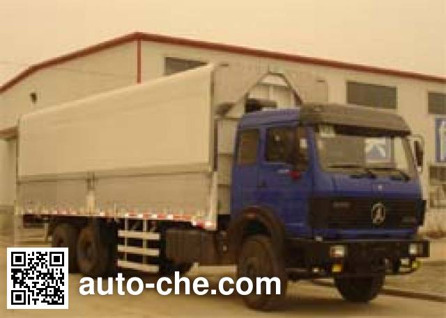 Beiben North Benz ND5250XYKZ wing van truck