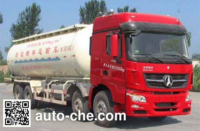 Beiben North Benz ND5310GFLZ01 low-density bulk powder transport tank truck