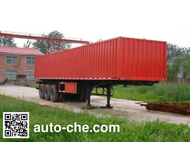 Beidi ND9280XXY box body van trailer