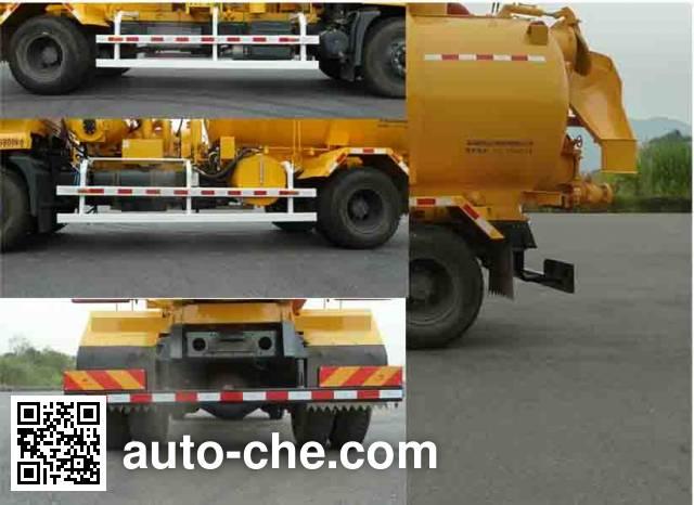 Naide Jiansong NDT5161GXW sewage suction truck