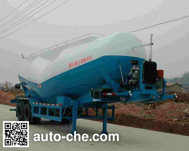明威牌NHG9350GFL粉粒物料运输半挂车