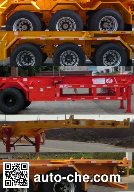 Mingwei (Guangdong) NHG9362TJZG container transport trailer