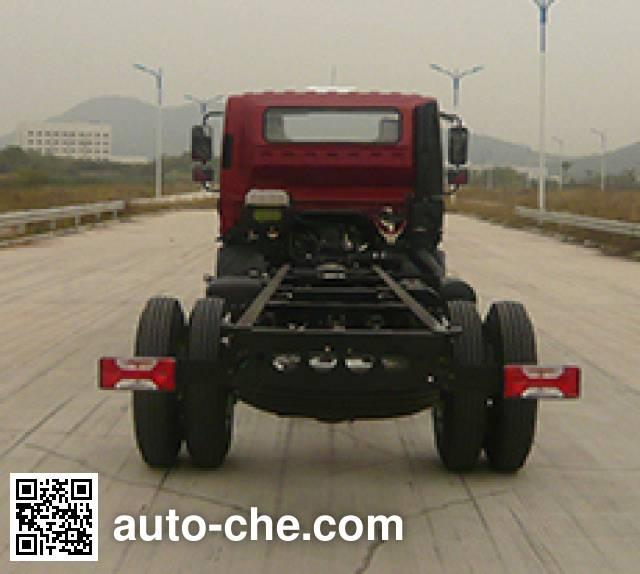 Yuejin NJ5102XXYZNDDWZ van truck chassis