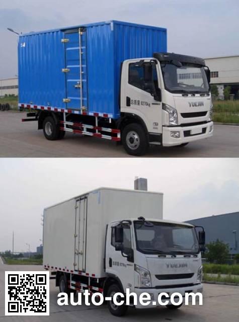 Yuejin NJ2042XXYZFDCWZ cross-country box van truck