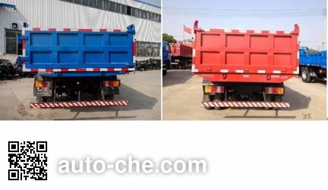 Yuejin NJ3051VFDCMW dump truck