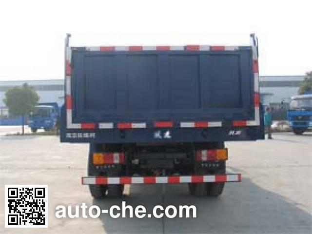 Yuejin NJ3161VKDCWW4 dump truck