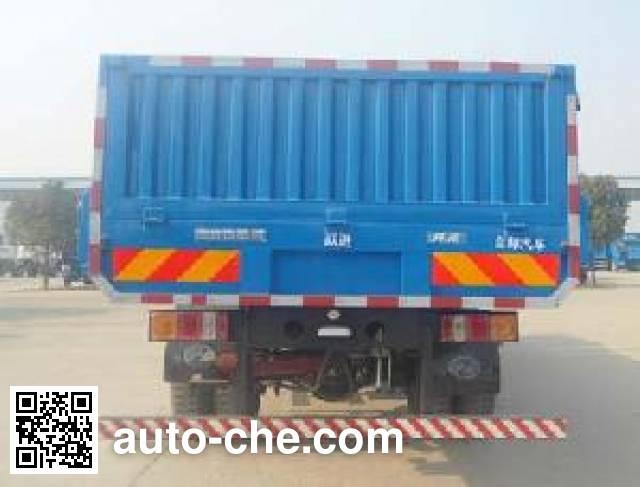 Yuejin NJ3200VHDDWW7 dump truck