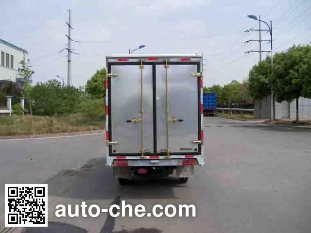 Yuejin NJ5022XXYPBMBNS box van truck