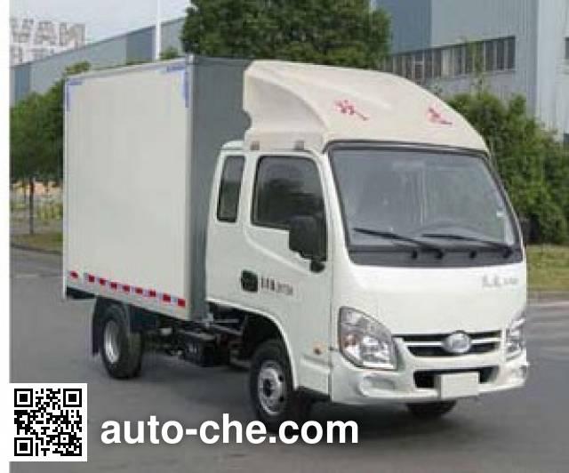 Yuejin NJ5022XXYPBMBNZ1 box van truck