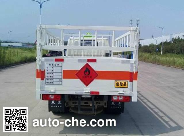 Yuejin NJ5032TQPPBGBNZ gas cylinder transport truck