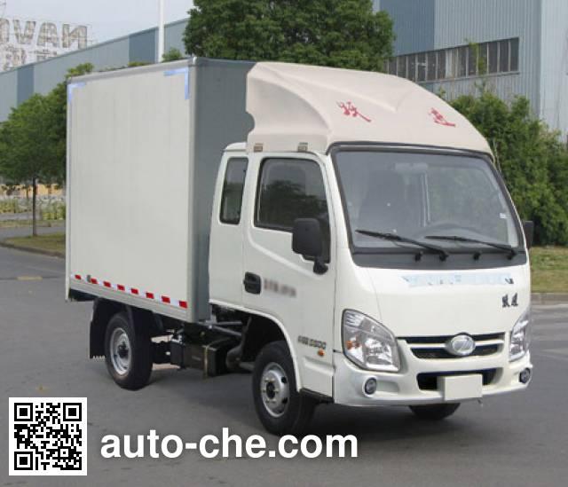 Yuejin NJ5032XXYPBMBNZ1 box van truck