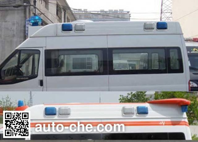 畅达牌NJ5040XJH4H2救护车