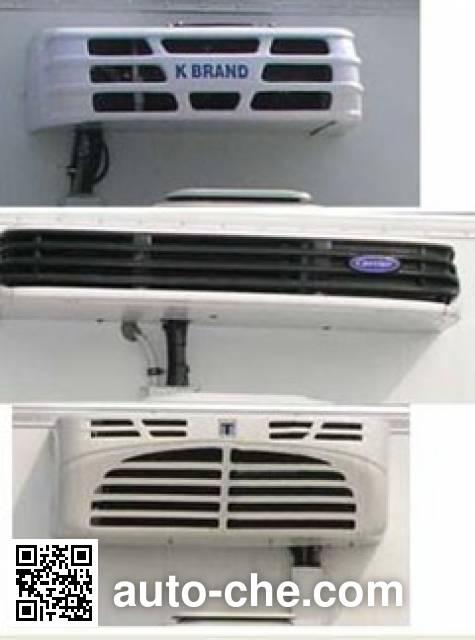 畅达牌NJ5040XLC4D冷藏车