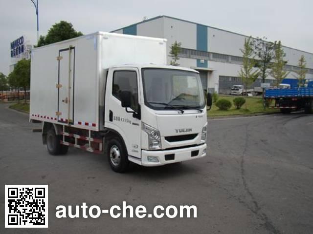 Yuejin NJ5041XXYZFDCNZ box van truck