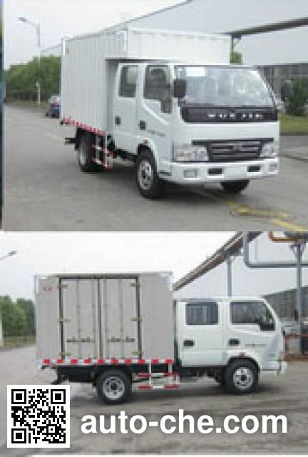 Yuejin NJ5041XXYDCDS box van truck