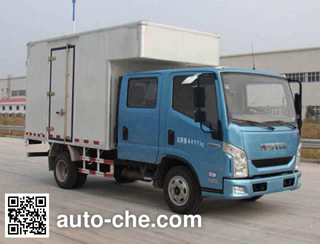 Yuejin NJ5041XXYZFDCMS1 box van truck