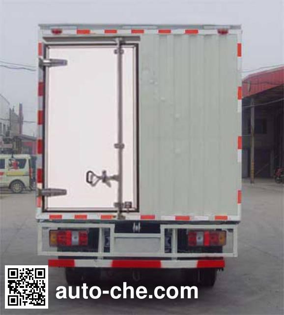 Yuejin NJ5042XWTDBFT4 mobile stage van truck