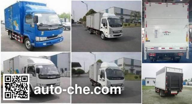 Yuejin NJ5042XXYDBFT4 box van truck
