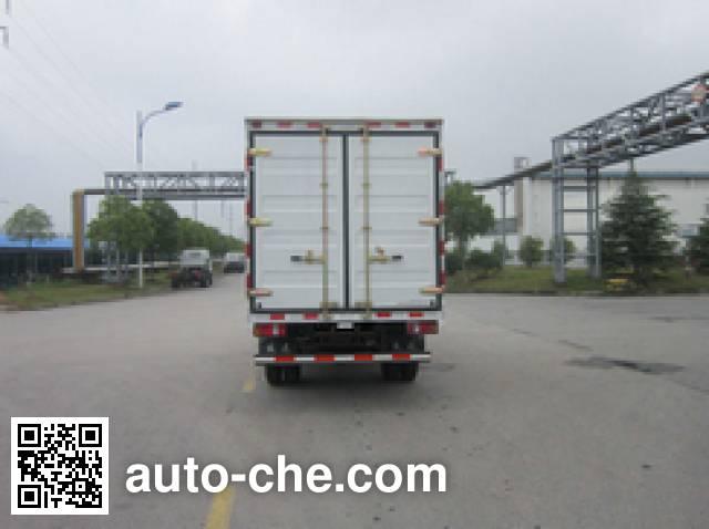 Yuejin NJ2042XXYKFDCMZ cross-country box van truck