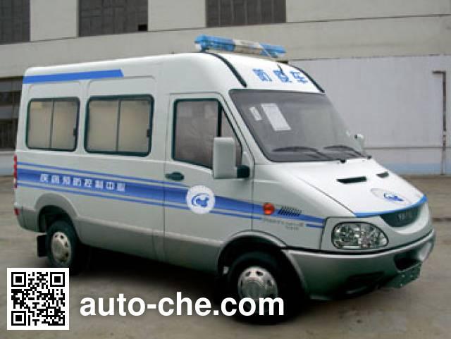 Iveco NJ5044XFYQB immunization and vaccination medical car