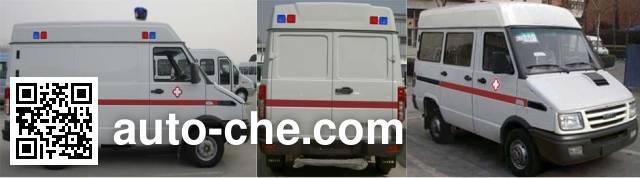 Iveco NJ5044XJHQA ambulance