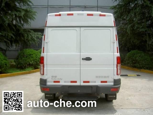 Iveco NJ5044XXYQ7A box van truck