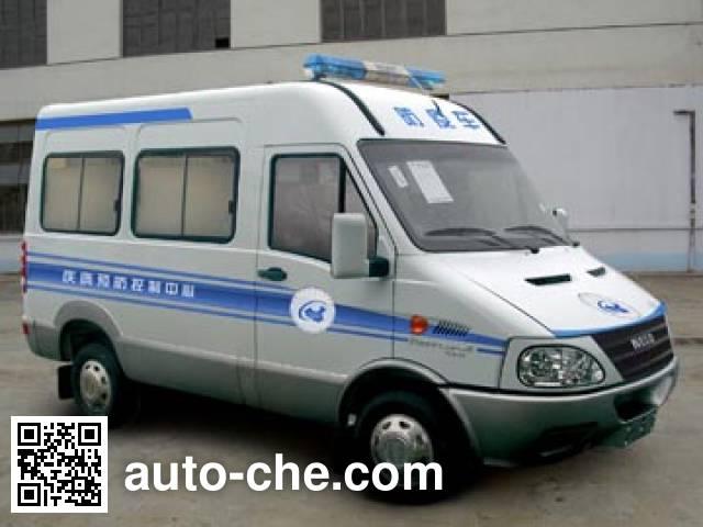 Iveco NJ5045XFYN4 immunization and vaccination medical car