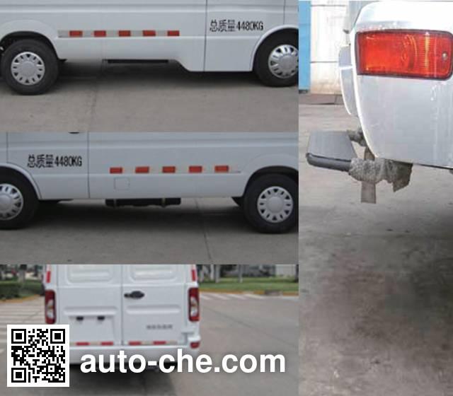 Iveco NJ5045XXY7D box van truck