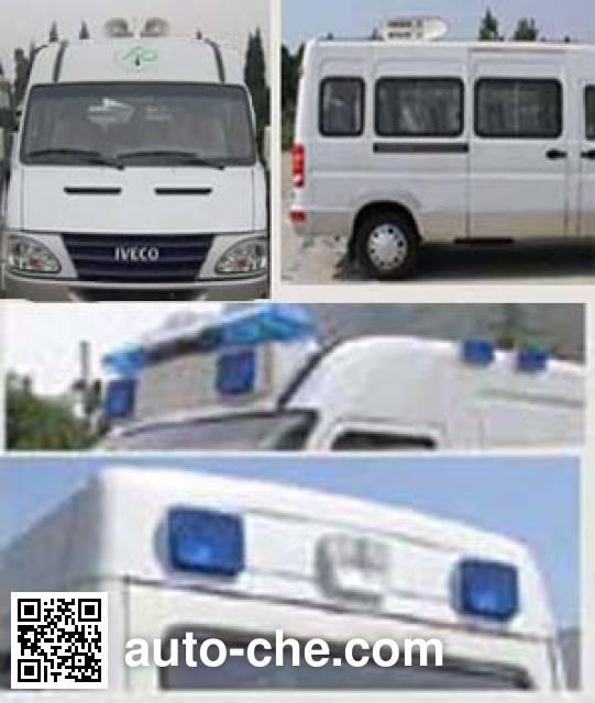 依维柯牌NJ5046XXC2N14计划生育宣传车