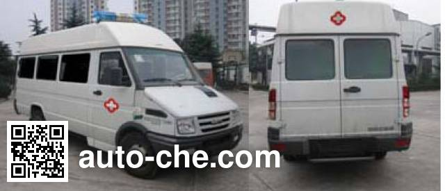 Iveco NJ5046XZDS X-ray diagnostic medical vehicle